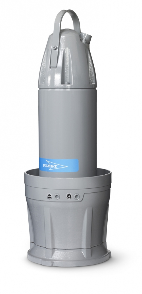 Axial Flow Propeller Pumps : Propeller pumps submersible almex bg ltd